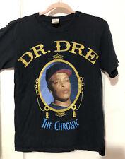 2005 Dr Dre The Chronic Rap Hip Hop Concert shirt Size S Black Rare