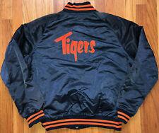 DETROIT TIGERS Vtg 80s Double Side PYRAMID Stitched PRE STARTER Jacket jersey L