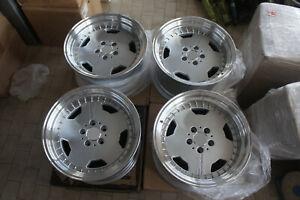 "For performa 107 w126 w124 r129 w201 mercedes benz 17"" classic Aero Style wheels"