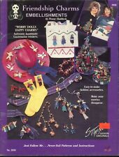 Friendship Charms Embellishments Booklet 1989 Haddock McNeill 2050 Worry Dolls