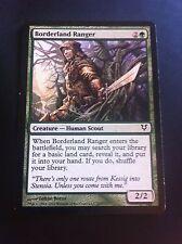4 x MTG Card - Borderland Ranger - Avacyn Restored