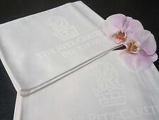 """2 R.C. FRETTE Crisp White Bedside Mats 22"""" X 28"""", Beautiful! ~Great Gift Idea~"""