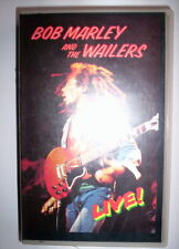 K7 VIDEO VHS BOB MARLEY LIVE