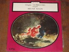 MILOSZ MAGIN CHOPIN 24 PRELUDES IPG ARISTOCRATE FRENCH LP RARE
