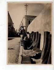 17284 Foto 0972 Tripoli - COLONIE - Venditore di stuoie - cm 24 x 18