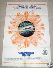"""VANISHING POINT"" 1971, 1 SH ORIG Poster, BARRY NEWMAN"