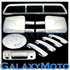07-13 TUNDRA Towing Mirror+Chrome 4 Door Handle+Tailgate Camera+3rd+GAS Cover