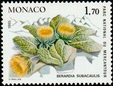 """MONACO N° 1461 """"PLANTES DU MERCANTOUR, BERARDIA SUBACAULIS""""NEUF xxTTB"""