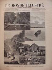MONDE ILLUST 1894 N 1920 -  MADAGASCAR MOYENS DE TRANSPORT