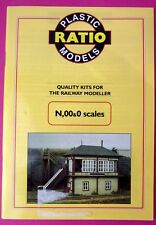 Ratio Plastic Models N, OO & O scales product catalogue 1998 2nd edition