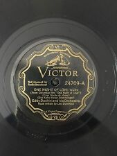 "RARE 78RPM 10"" VICTOR 24709 EDDY DUCHIN ORCHESTRA ONE NIGHT OF LOVE LEW SHERWOOD"