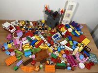 Huge Genuine LEGO DUPLO Bundle - 3.8KG - Vehicles/Animals/Figures/People/Castle