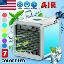 Portable Mini Air Conditioner Fans Personal Led Cooling Fans Humidifier Purifier