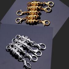 Fermoir Mousqueton de Chaîne Argenté Or Aimant Pour Bracelet Collier Bijoux DIY