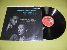 Beethoven Violin Sonatas 5 & 9 Hephzibah & Yehudi Menuhin 1959 ASD 389 STEREO EX