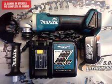 Smerigliatrice A Batteria Makita Dga456z 18Volt Litio +1 Batt + Caricabatterie