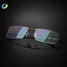 Men's Rimless β Titanium Ultra Light  Eyeglasses Frames Optical Eyewear RX Able