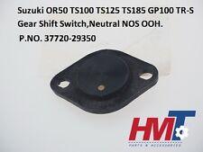Suzuki OR50 TS100 TS125 TS185 GP100 TR-S Gear Shift Switch Neutral 37720-29350