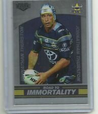 2016 NRL ESP Elite case card CC1 Johnathan Thurston COWBOYS #162/200