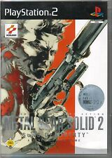 - Metal Gear Solid 2 Sons of Liberty mit Bonus-DVD in OVP Sony Playstation PS 2