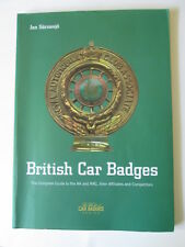 British Car badges book. Jan Sarnesjo car badges book. motor club badge.