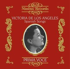 Victoria de los Angeles - Spanish Songs [New CD]