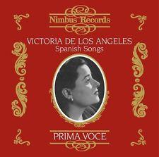 Victoria de los Angeles - Spanish Songs [New CD]