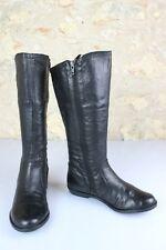 leather boots Black KICKERS T 36 Good condition