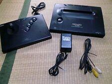NEO GEO Neogeo AES Console System NEO-0 set Tested Work 01C