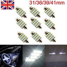 31/36/39/41mm C5W 12V 24V 16SMD Car Interior Dome Festoon LED Light Lamp White