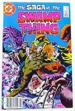 DC SAGA OF THE SWAMP THING (1984) #22 Key Alan MOORE FN/VF (7.0) Ships FREE!