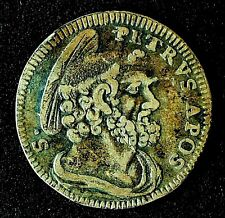 More details for vatican city/papal states 1743 pope benedict xiv  silver grosso.          570-ee