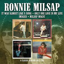 RONNIE MILSAP It Was Almost Like A Song / Only One Love  2 CD SET ups