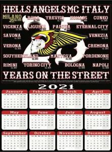 calendario Calendar Hells Angels MC Italy 2021