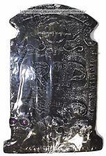 MOMENTUM BRANDS Skulls FOAM TOMBSTONE Party Decoration HAPPY HALLOWEEN Black NEW