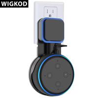 WIGKOD Outlet Wall Mount For Amazon Echo Dot 3rd Generation Holder Bracket