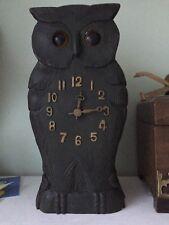 Antique cuckoo clock Owl Clock Moving Eyes