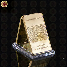 WR Iron Eagle 1 Oz Fine Gold Bullion Iron Bar Gold Collectible Coin Best Gift