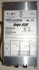 TDK-Lambda Vega 650 K6V60C02V Power Supply  USED