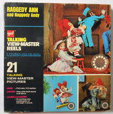 VINTAGE! 1971 Talking View-Master Raggedy Ann and Andy Reel Set