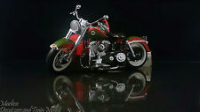Franklin Mint 1:10 1958 Harley-Davidson Duo-Glide w sidecar - 2002 Christmas Ltd