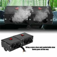 Windscreen Car Heater 24V 500W Air Heater Defroster Demister Warm Fan 4 Ports