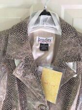 Bradley Bayou embossed leather jacket 2x