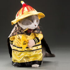 PET DOG CAT CHINESE EMPEROR PRINCESS OUTFIT COSPLAY COSTUME CLOTHES S-