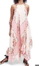 free people Mind's Eye Maxi Dress L Red Combo
