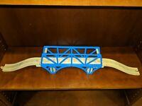 Thomas Wooden Railway Blue Bridge Train Track Brio Compatible