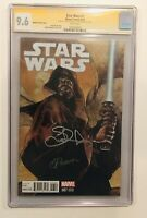 STAR WARS 7 CGC 9.6  SIGNED x2 By BIANCHI and PONSOR MARVEL COMICS  2015 MOVIE