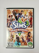 The Sims 3 World Adventures Expansion Pack Complete PC Windows MAC 2009