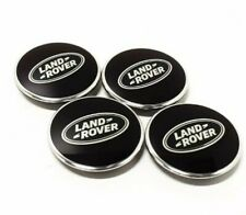 Land Rover Defender - Sawtooth Alloys Centre Wheel Caps. 63mm. Black