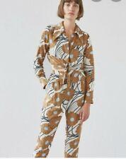 RACHEL COMEY Luana Floral Silk Jumpsuit Size 8